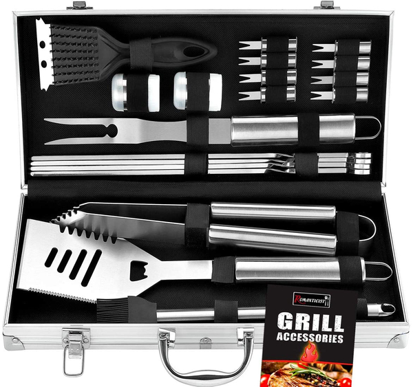 Heavy Duty BBQ Grilling Tools Set
