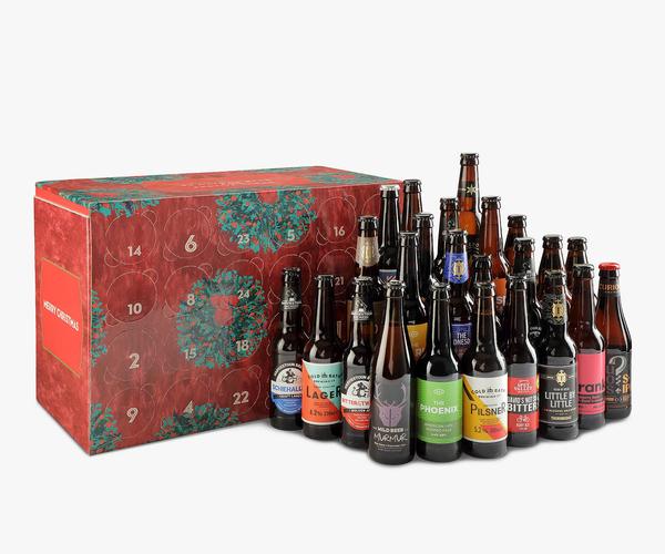 Advent Calendar For Self Filling Beer Bottles 0,5l 0,33l Beer Advent Calendar