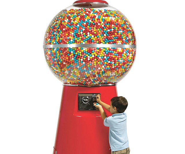 The 14,000 Gumball Machine