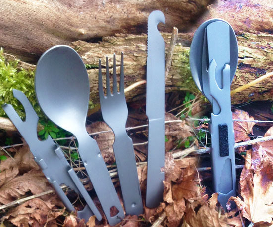 18-In-1 Compact Cutlery Multi-Tool