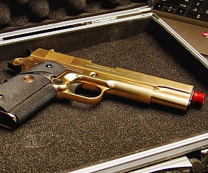 24K Gold Airsoft Pistol