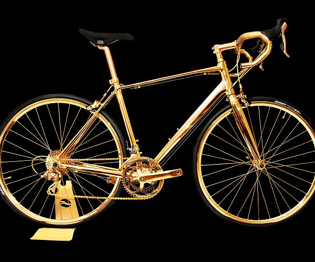 Solid Gold Bicycle