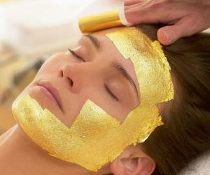 24K Gold Foil Sheet Masks