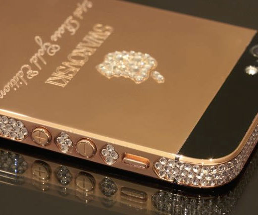best service a7bbd 7d253 24 Karat Gold iPhone Case