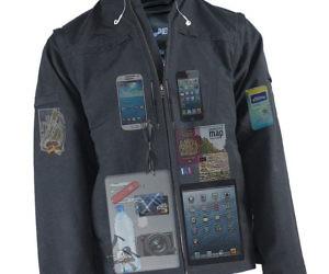Concealed Pockets Jacket