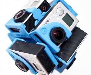 360 Degree GoPro Camera Ho...