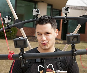 360 Degree Selfie Camera Rig