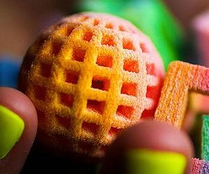 3D Printed Geometric Candy