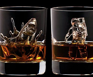 3D Ice Cubes Sculptures