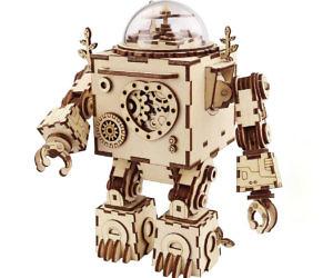 3D Robot Puzzle Music Box