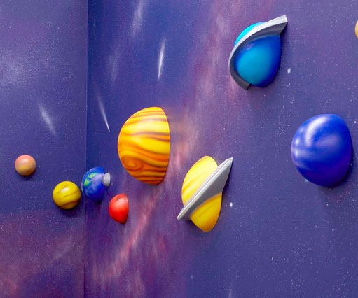 Solar System 3d Wall Art