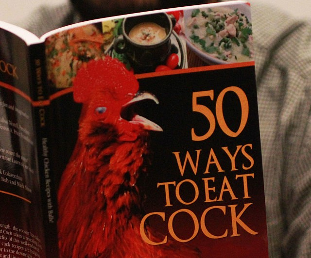 50 Ways To Eat Cock Cookbook