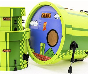 8-Bit Super Mario Drums