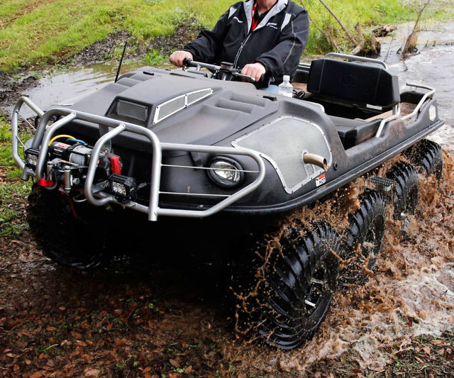 8X8 Amphibious ATV