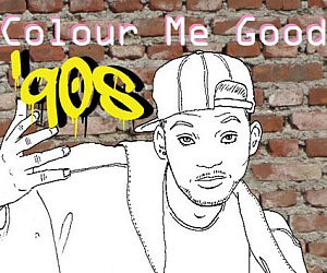 10s Coloring Book