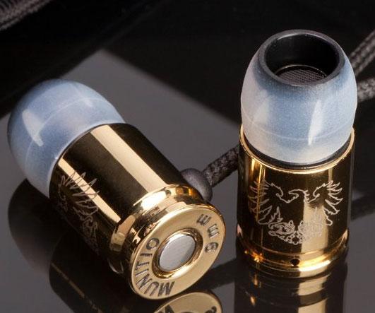 Nine Millimeter Bullet Ear Buds