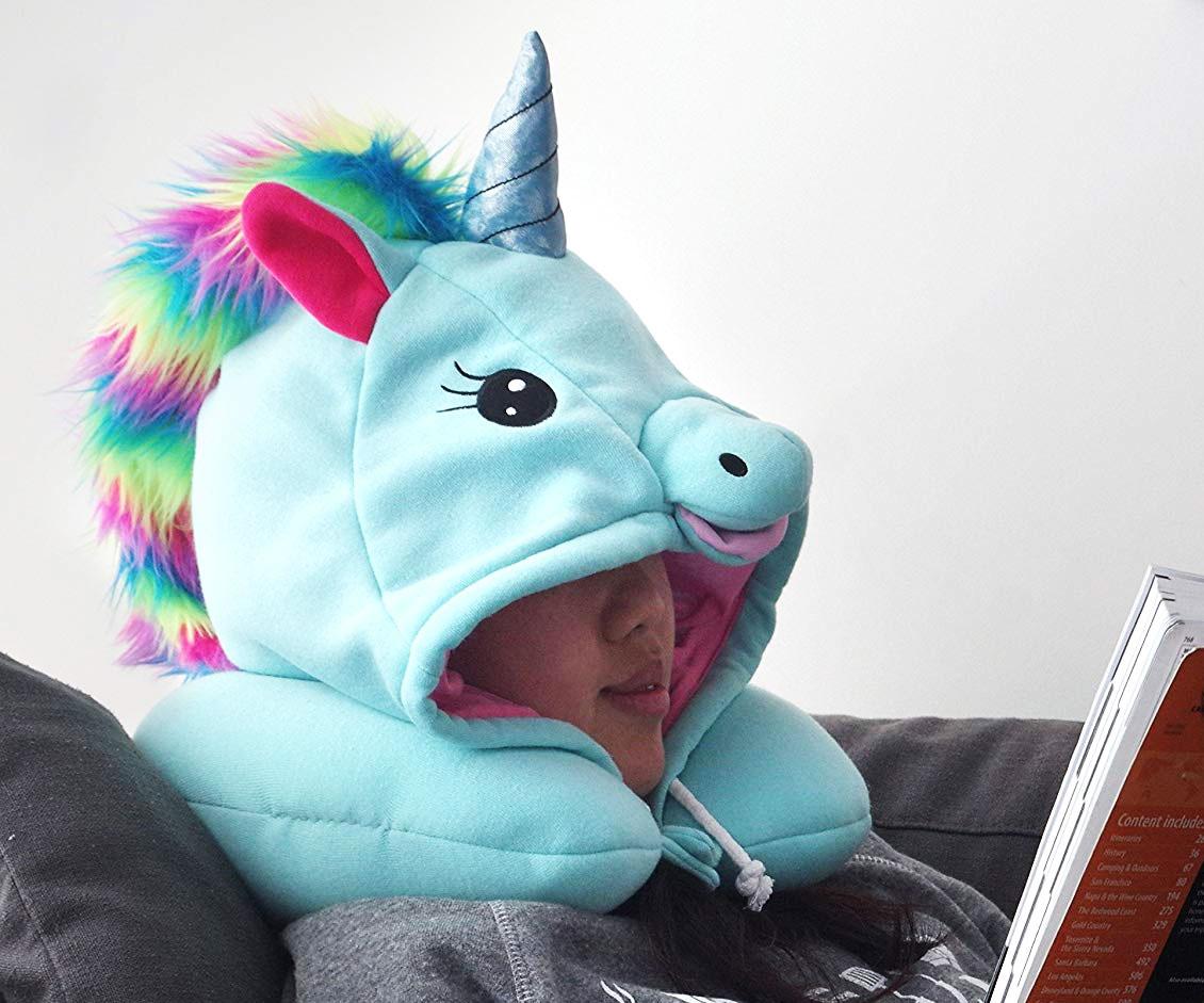 Unicorn Neck Pillow Hoodie