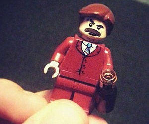 Anchor Man LEGO Action Figure