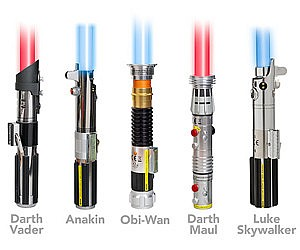FX Removable Blade Lightsabers