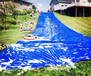 The Worlds Longest Water Slide