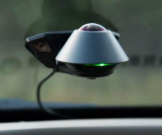 360° Car Dashboard Security Camera