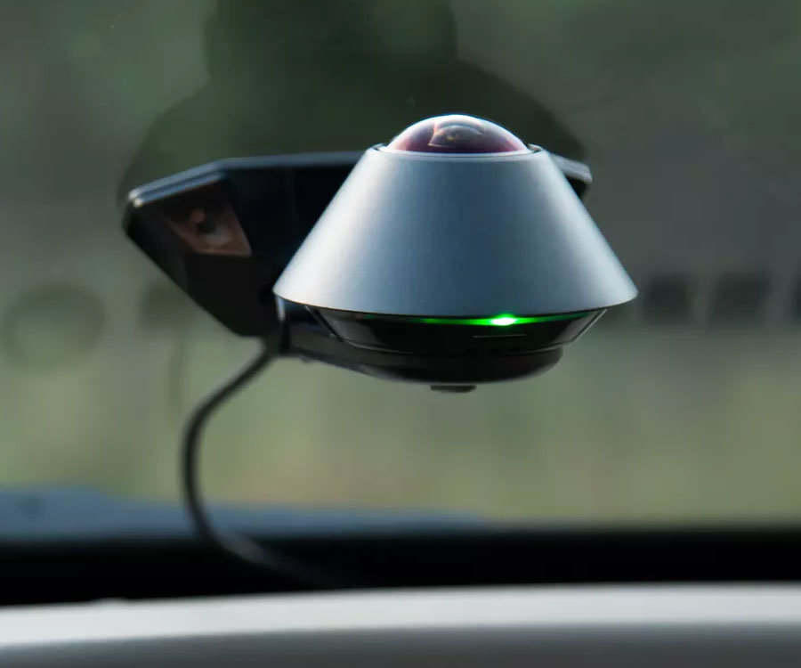360-degree Car Dashboard Security Camera