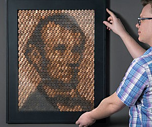 Abraham Lincoln Penny Portrait