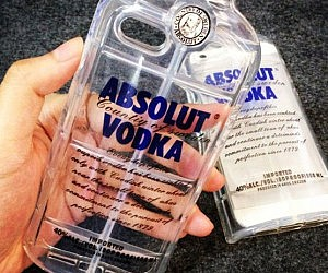 Vodka Bottle iPhone Case