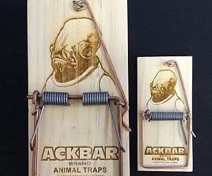 Admiral Ackbar Mouse Traps