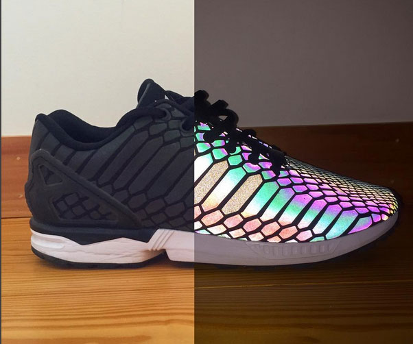 Reflective Iridescent Spectrum Shoes