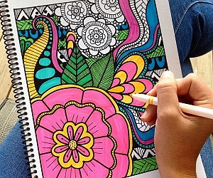 Downloadable Adult Coloring Book