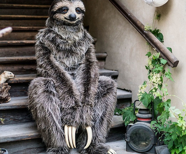 09d26d8965f3b Realistic Adult Sloth Costume