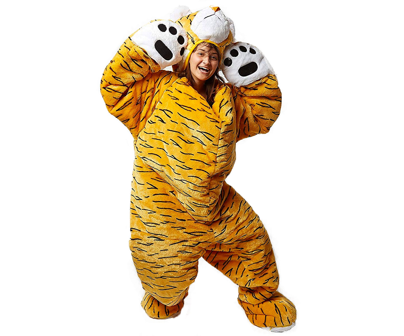 Adult Tiger Sleeping Bag - coolthings.us