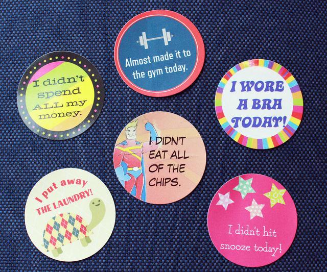 Adulting reward stickers