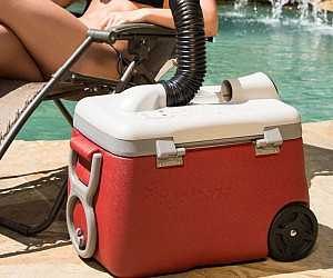 Air Conditioner Drink Cooler