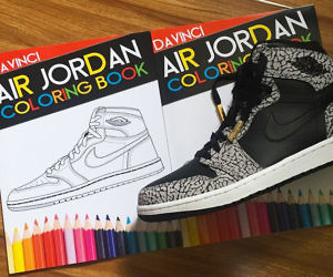 Air Jordan Coloring Book