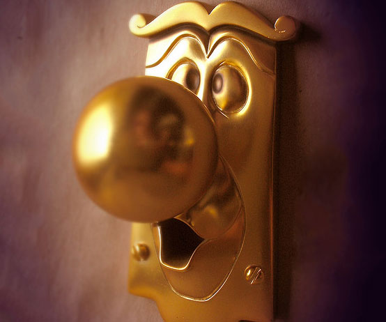 In Wonderland Doorknob