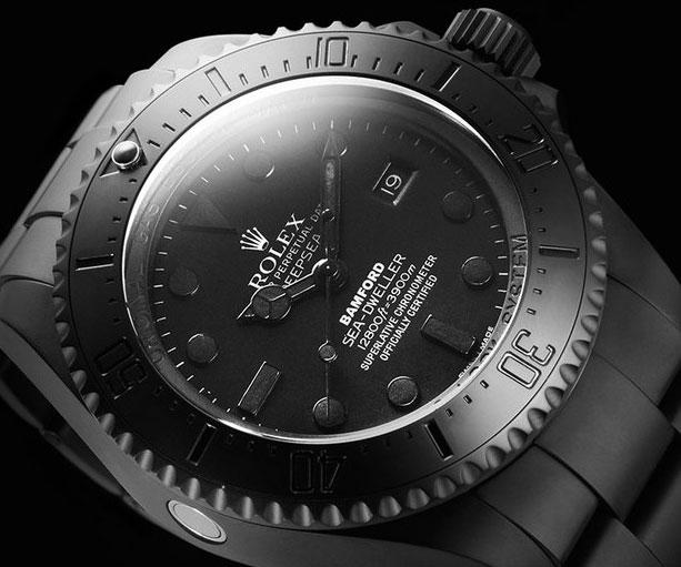 All-Matte Black Rolex