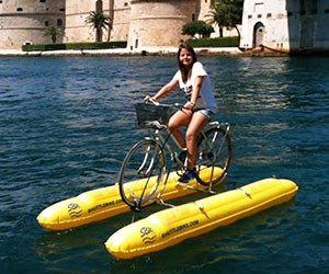 Amphibious Bicycle