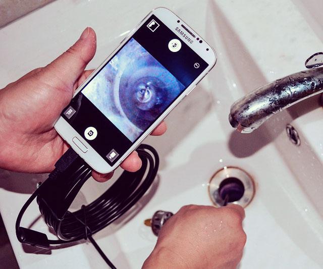 Smartphone Endoscope Tube