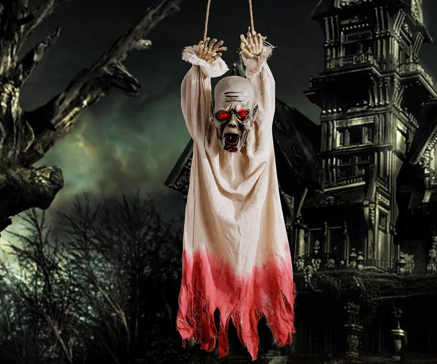 Animated Hanging Corpse - coolthings.us