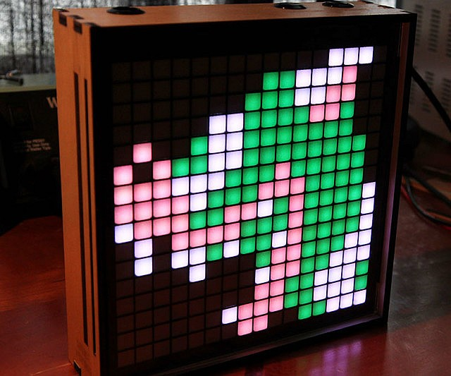 Animated Pixel Art Frame