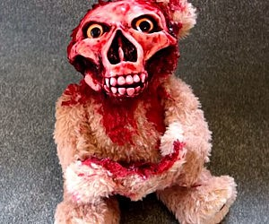 Animatronic Undead Teddy Bear