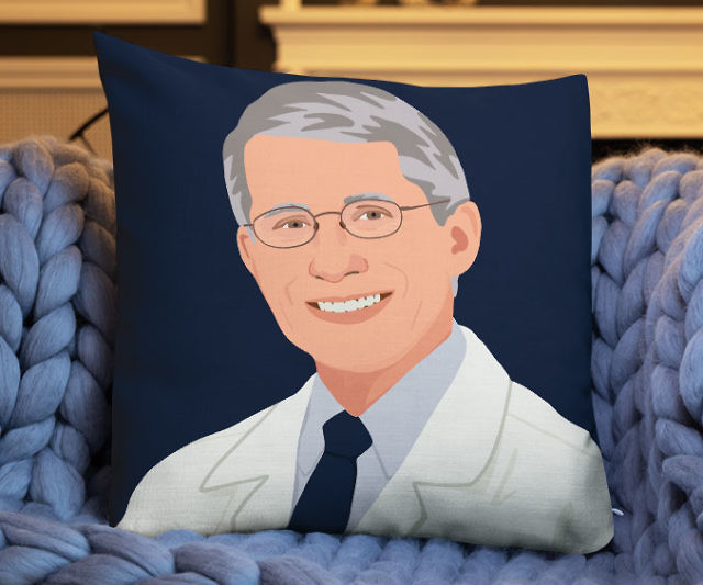 fouch on the couch pillow