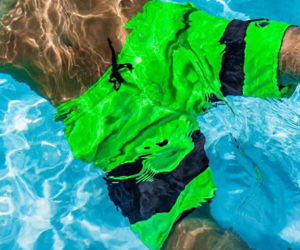 Mens Anti-Chafe Swim Trunks