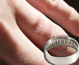 Engagement Ring Brass Knuckles