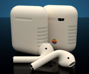 Retro Apple MacBook Sticker