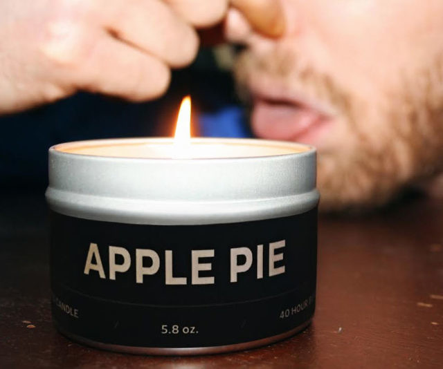 Apple Pie To Fart Smell Prank Candle