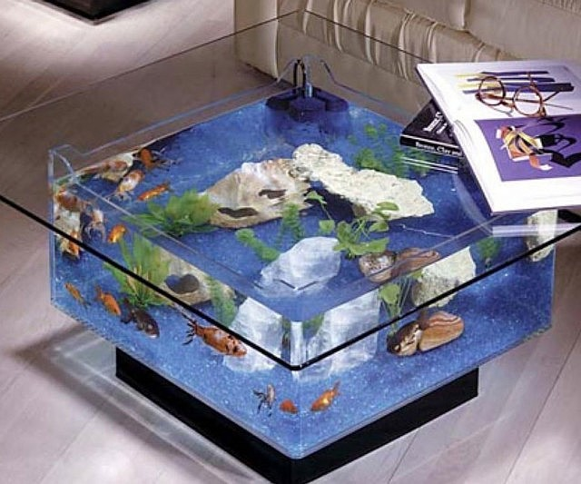 fish tank coffee table Coffee Table Aquarium fish tank coffee table