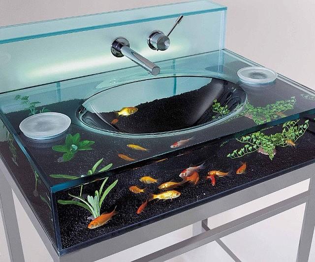 Fabulous Aquarium Sink